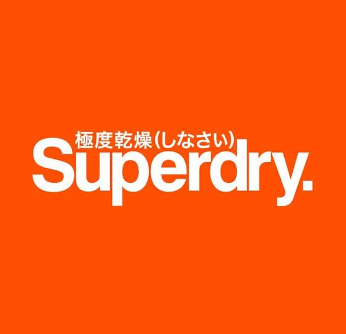 SUPERDRY: DROOG OF HEEL ERG DROOG?